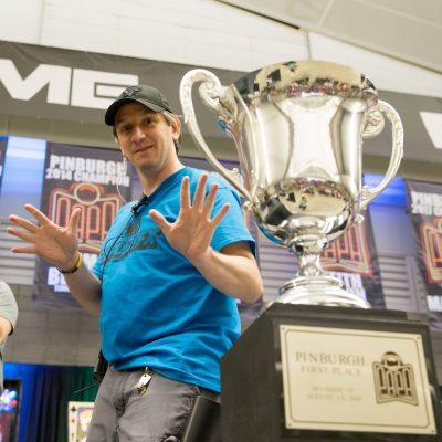 23 Tournament Director Douglas Polka of Vandergrift, PA